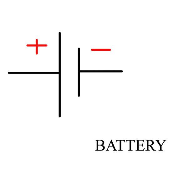 showing post media for battery wiring symbol symbolsnet com batteries schematic symbol jpg 620x620 battery wiring symbol