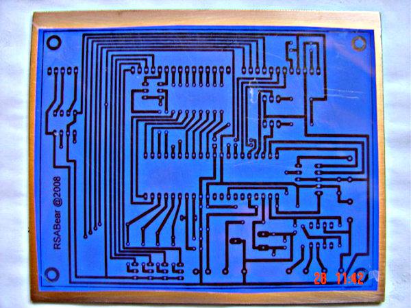 Digital Volt & Amp Meter Circuit Diagram