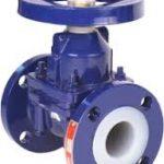 Plumbing pipe and fitting symbols -Diaphragm valve symbol example