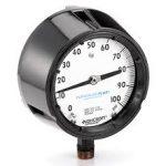 Plumbing pipe and fitting symbols -Pressure gauge example