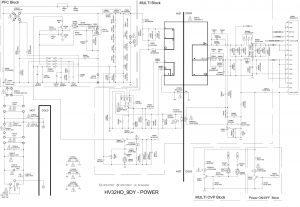 Skema SAMSUNG LN 26B350F1 LN 32B350F1 TFT LCD TV Circuit diagram