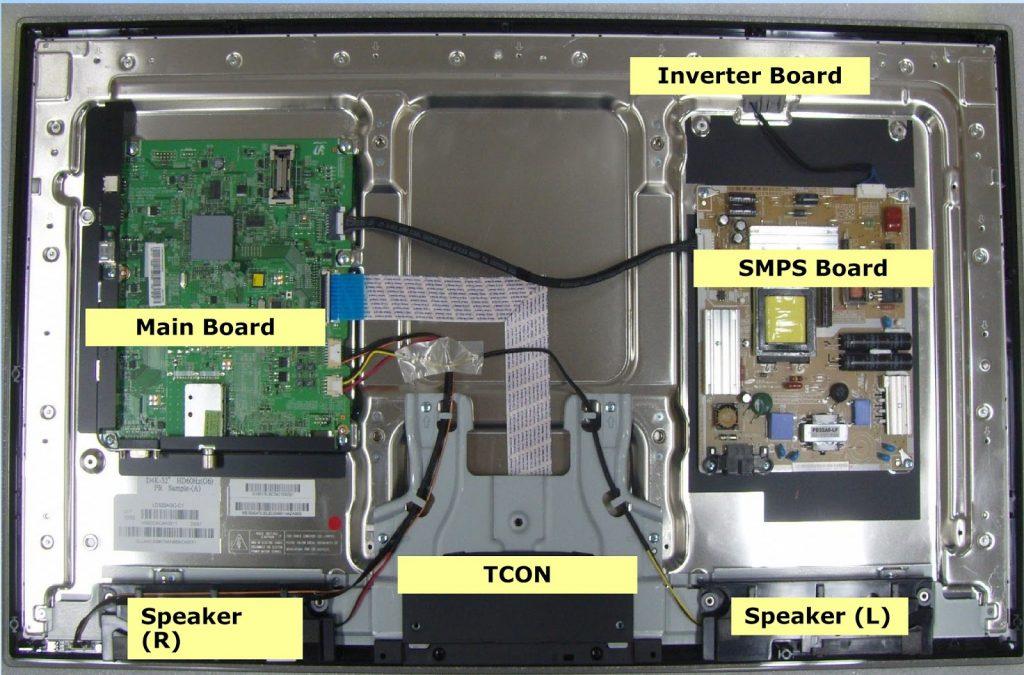 SAMSUNG LN 26B350F1 LN 32B350F1 TFT LCD TV Circuit Diagram
