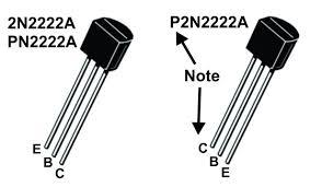 2N2222 transistor comparison