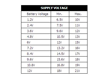 BD135 suply voltage
