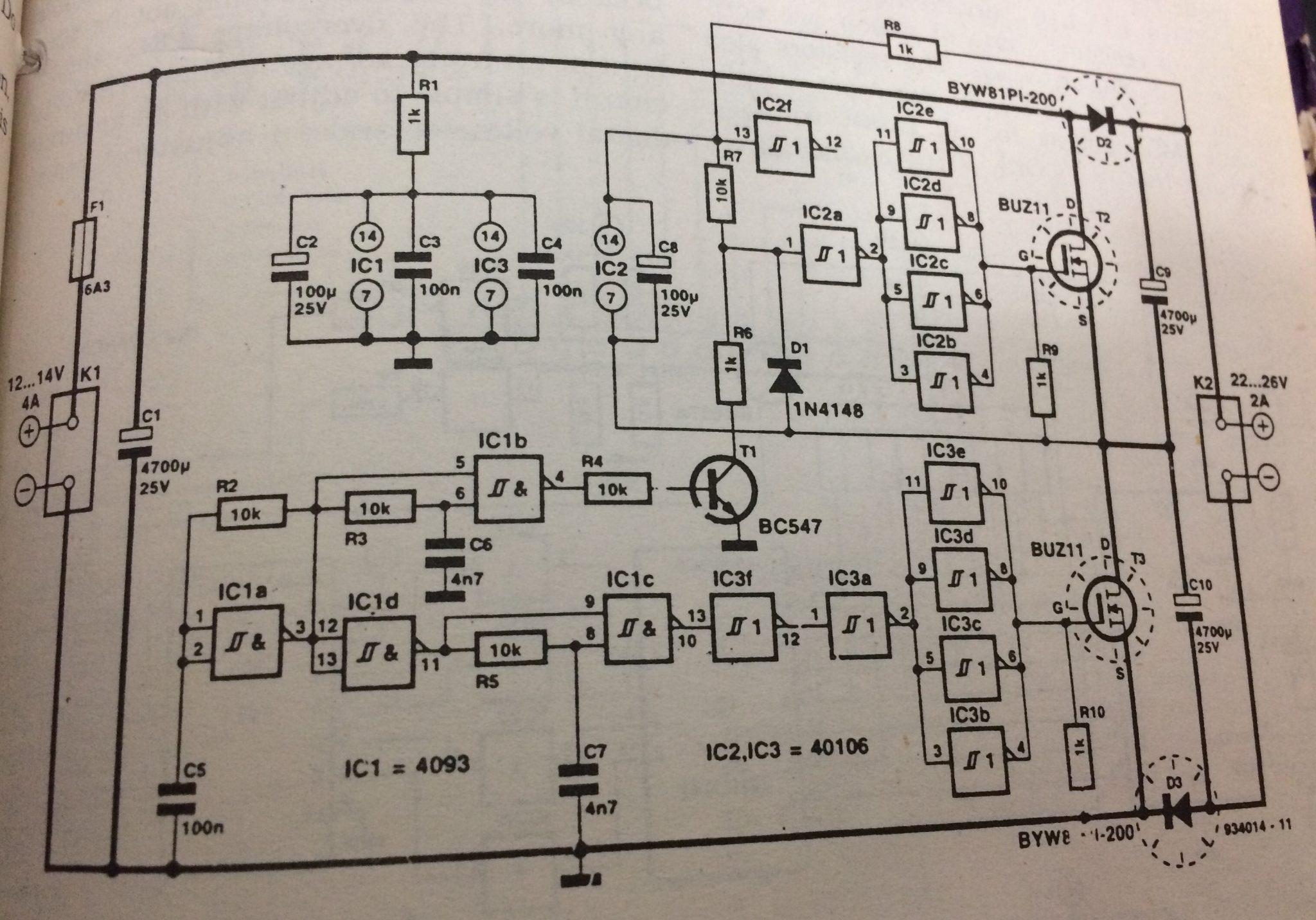 Diagram Power Supply Also Converter Circuit Diagram On Negative