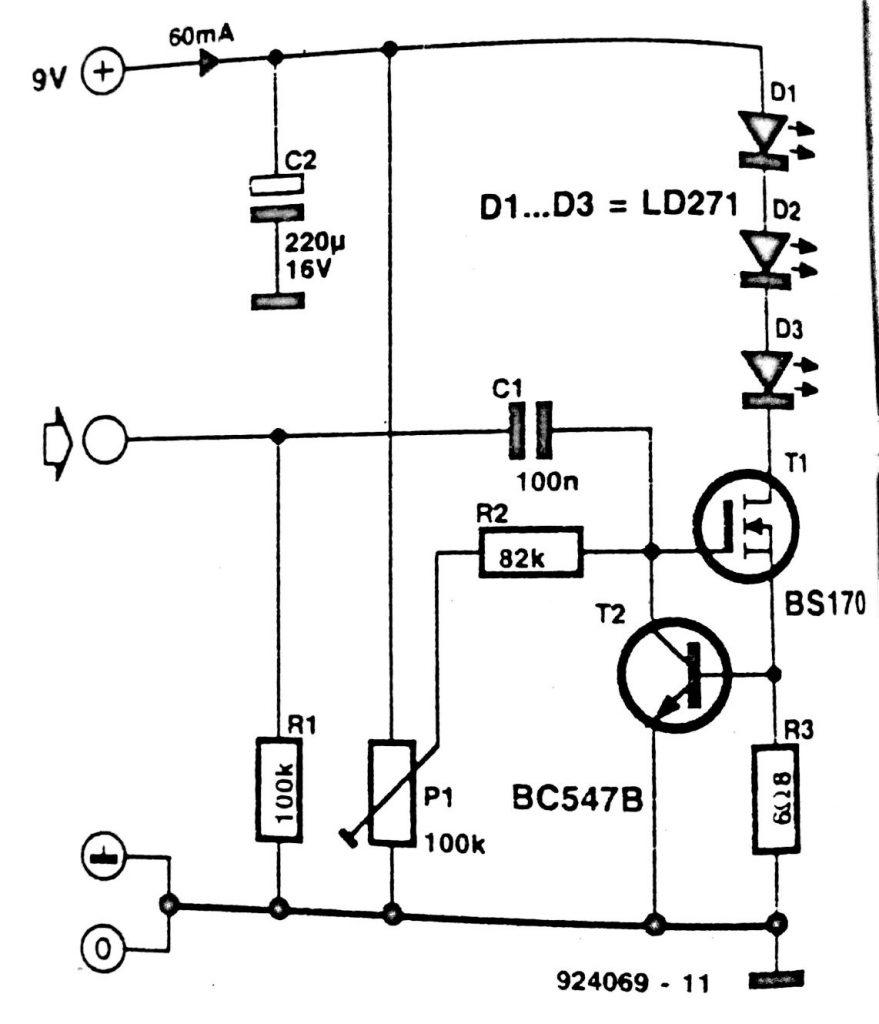 Infra-red Headphone Transmitter