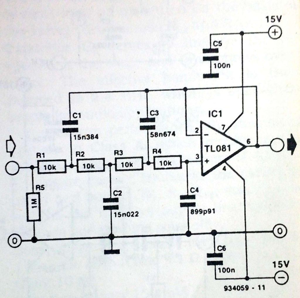 single chip filter