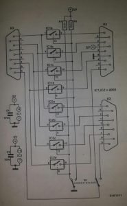2764 EPROM emulator Schematic diagram