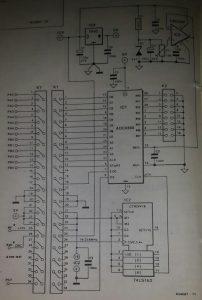 8-channel A-D converter
