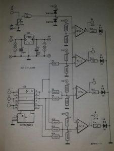 Compact A-D converter Schematic diagram