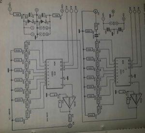 Digital volume control Schematic diagram