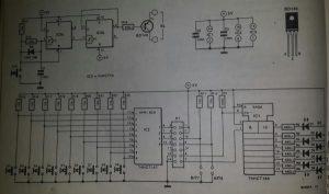 Mini keyboard for Z-80 card Schematic diagram