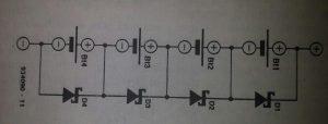 Maintenance of rechargeable batteries Schematic diagram