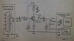 Ferguson BSB  receiver as D2MAC decoder Schematic diagram