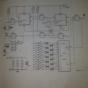 Pulse generator Schematic diagram