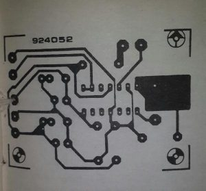 Thermocouple-to-DMM interface Schematic diagram