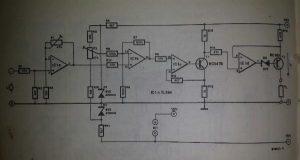 Voltage-controlled current source Schematic diagram
