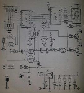General purpose power-on delay Schematic diagram