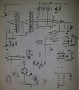 General purpose time switch Schematic diagram