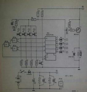 Precedence detector Schematic diagram