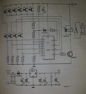 Lock code unit with auto reset Schematic diagram