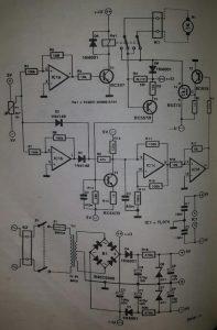PCB drill control Schematic diagram