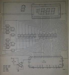 Zero suppressor for IC17106 Schematic diagram