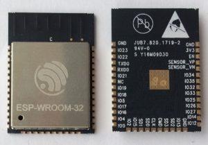 ESP-WROOM-32 Schematic Circuit