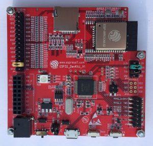 ESP-WROVER-KIT V1 or ESP32 DevKitJ V1 Schematic Circuit
