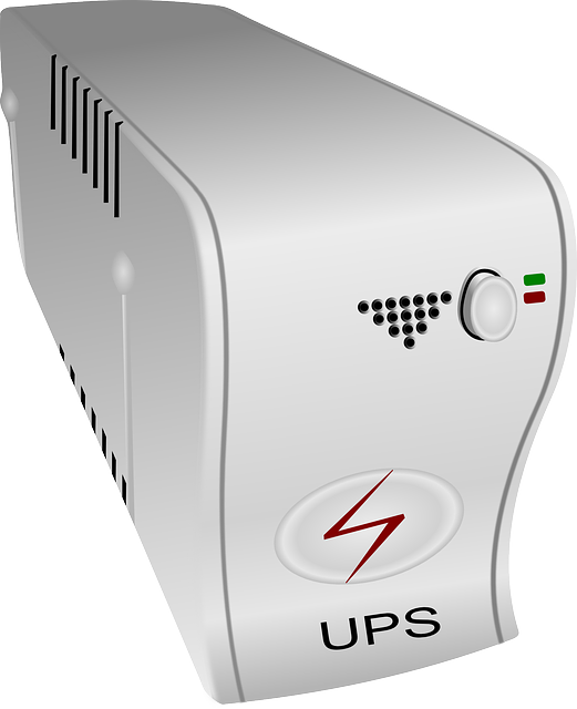 Typical example of UPS for Power Backups