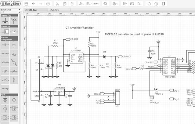 easyeda Top 10 free Software for Circuit Diagrams Schematics