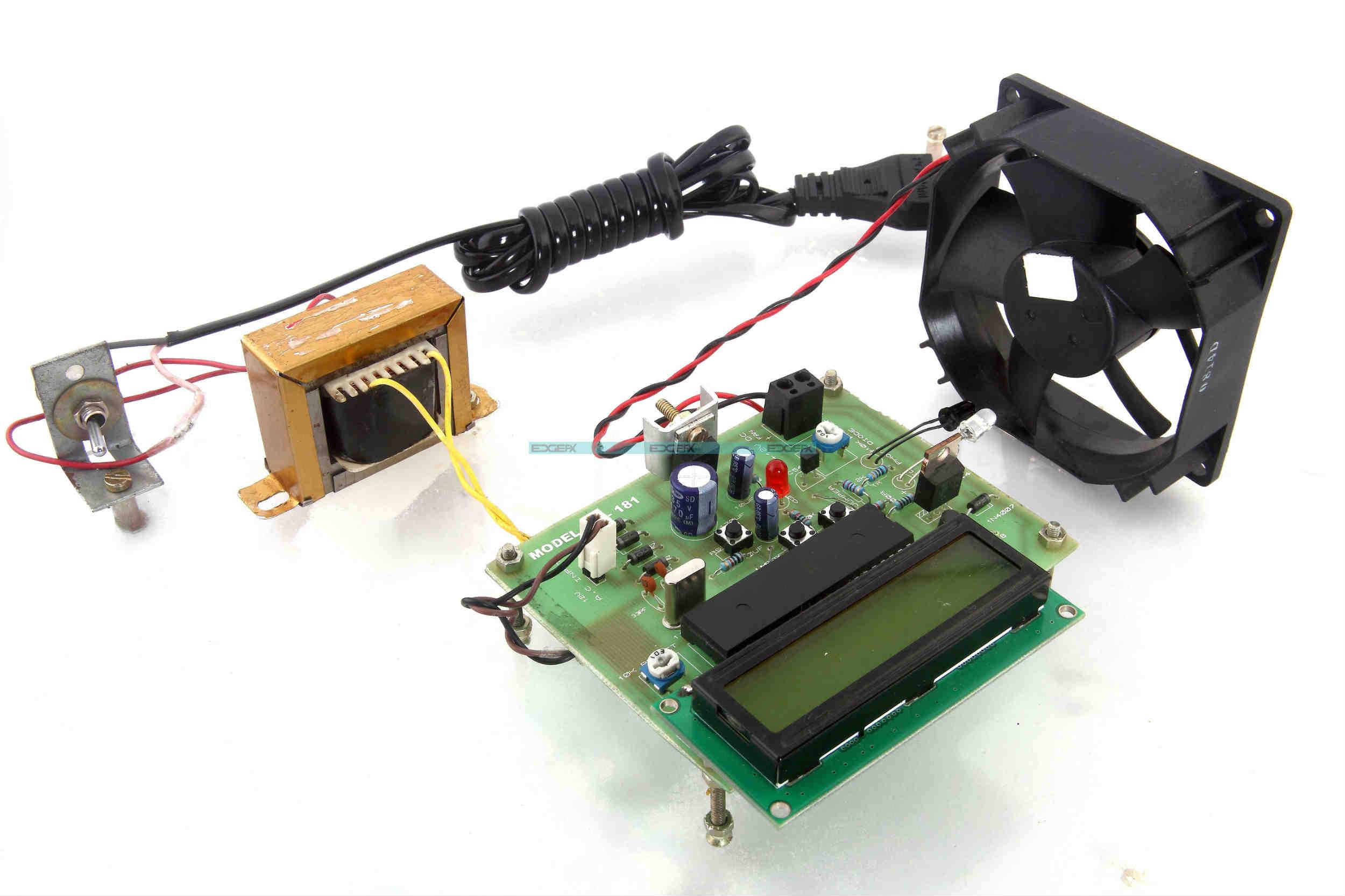 Circuit Diagram Of DC Motor Speed Control Using Microcontroller