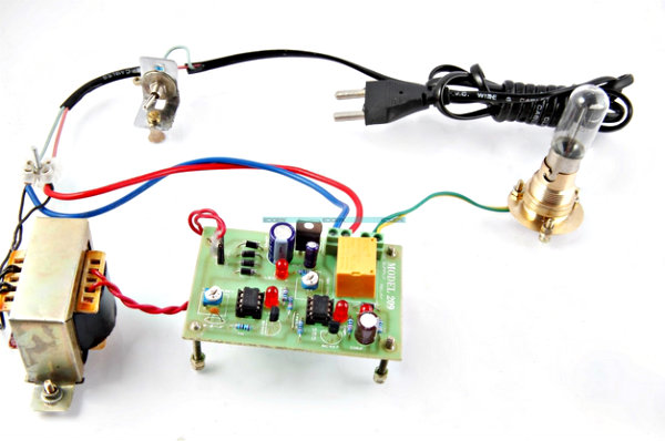 Electrical Appliances Over Under Volt Protection Circuit Diagram