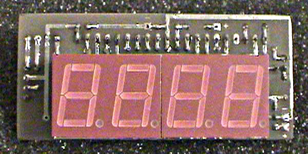 Simple Digital LED Ammeter Using ICL7107