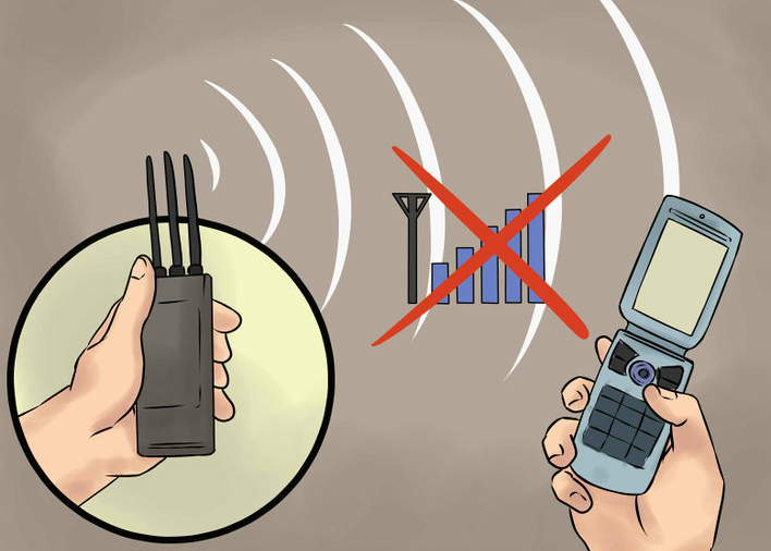 cell phone jammer example