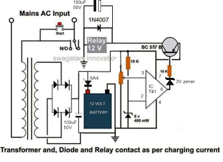 high current battery charegr circuit example