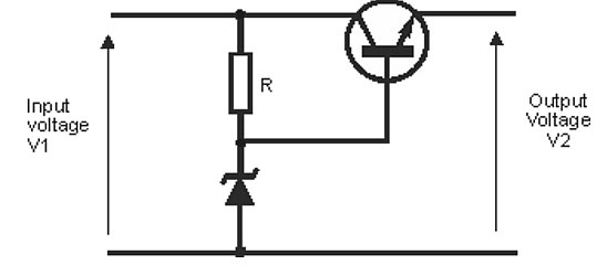 2-zener_diode_circuit_for_a_simple_regulated_power_supply Zener diode