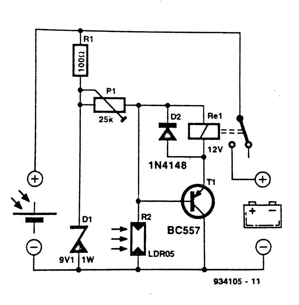 Solar Panel Switch