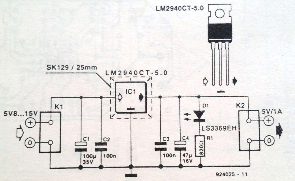 Low-drop regulator