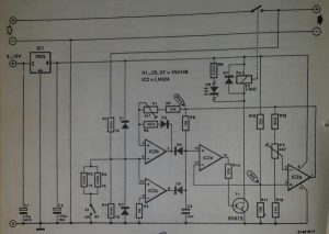 Automatic battery charger 1 Schematic diagram