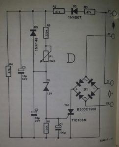 Power-on delay for Atari ST Schematic diagram