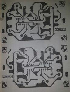 Synchronization separator Schematic diagram
