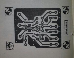 HCT crystal oscillator Schematic diagram
