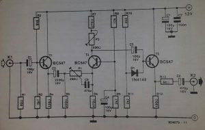 Video Enhancer Schematic diagram