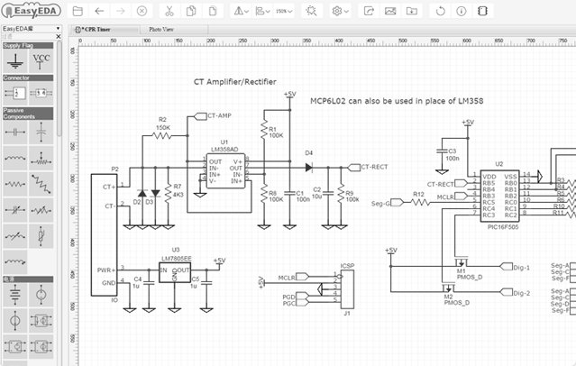 easyeda Top 10 free Software for Circuit Diagrams Schematics