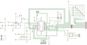 Digital Volt & Amp Meter Circuit Diagram