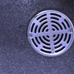 Plumbing pipe and fitting symbols -floor drain example