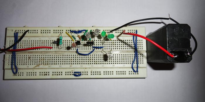 lamp of circuit for automatic light system