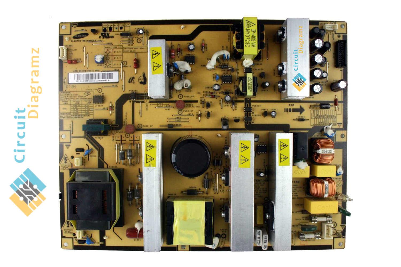 bn44-00165a lcd tv circuit