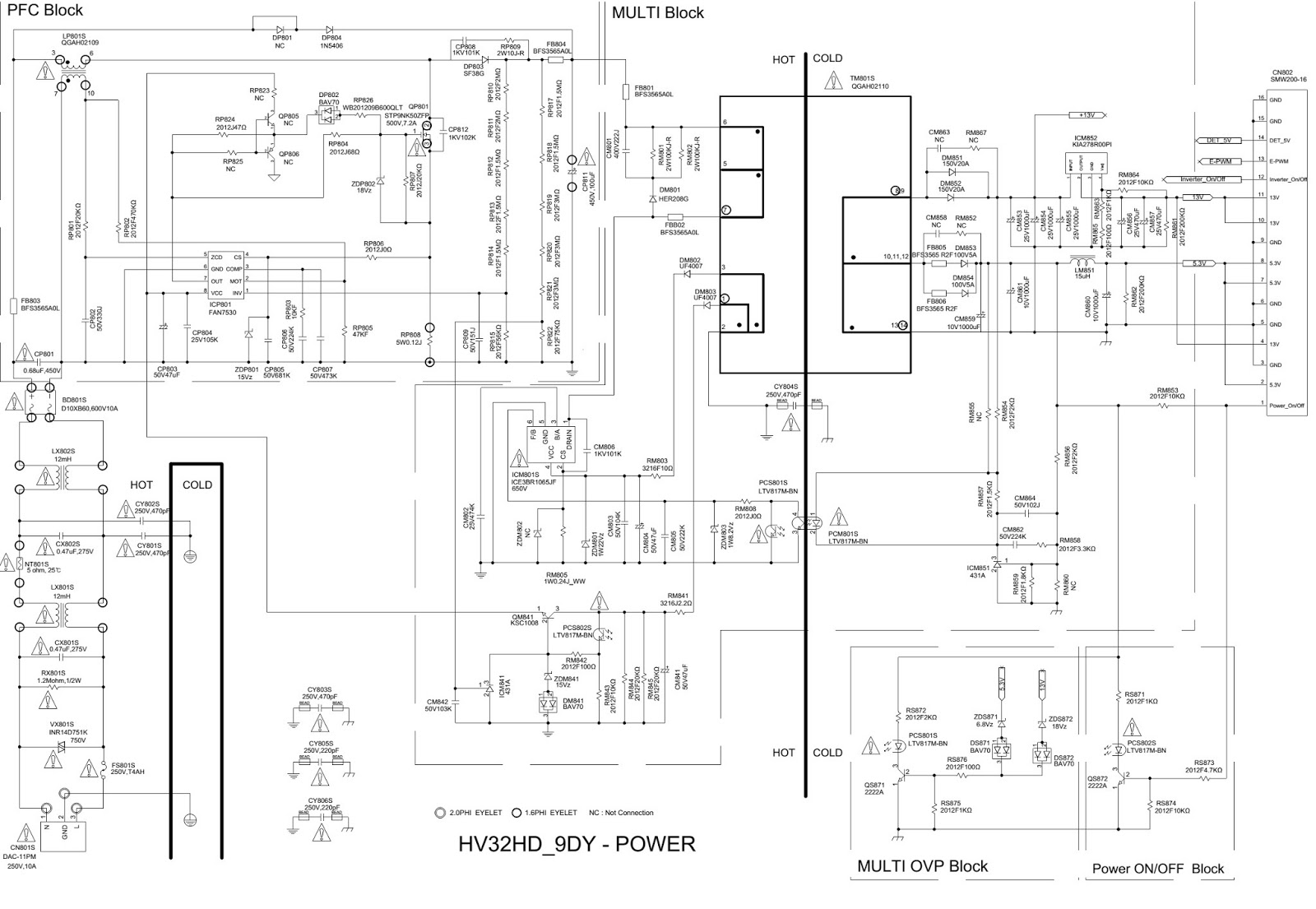 Samsung Ln26b350f1 Ln32b350f1 Tft Lcd Tv The Circuit Diagram Skema Ln 26b350f1 32b350f1